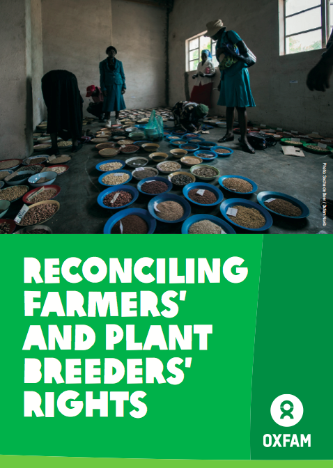Reconciling farmers and plant breeders rights front